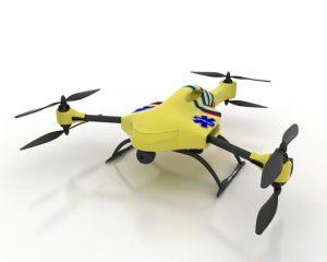 Multirotor drone de 6 motores
