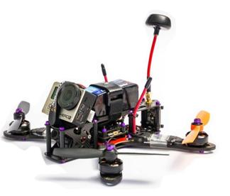 ¿Que partes tiene un drone de carreras?