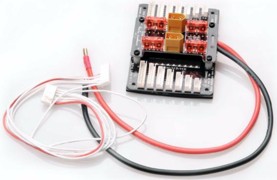 como-cargar-baterias-lipo en paralelo_placa_fusibles_drone_de_carreras
