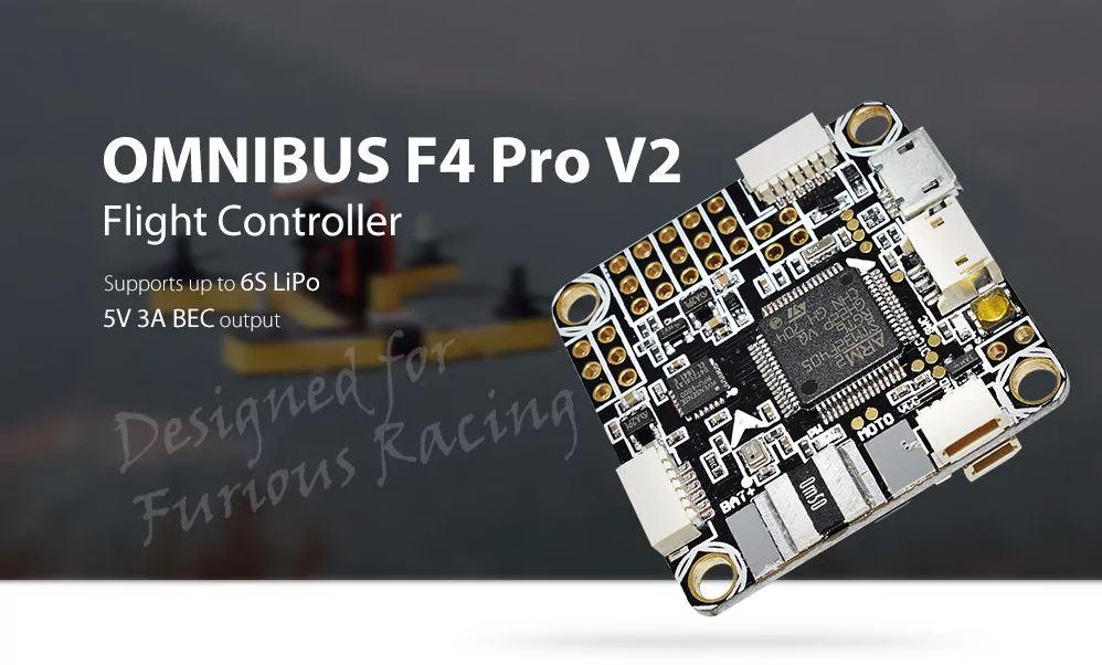 Controlador de vuelo Omnibus F4 V2