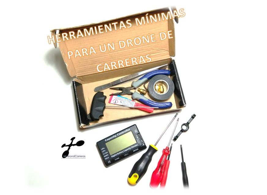 ¿Que herramientas necesito para montar y reparar mi dron?