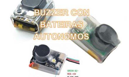 Buzzer Autónomos con Baterías anti perdida para Dron