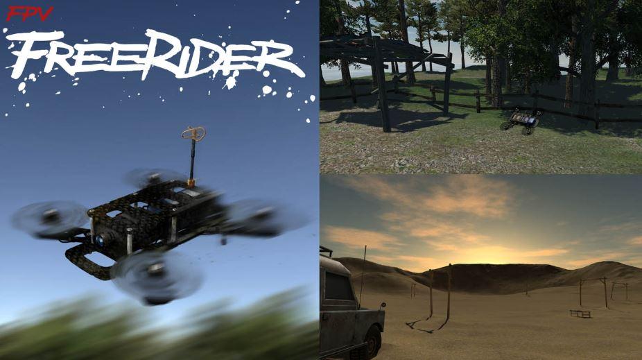 Simulador de Dron FPV FreeRider