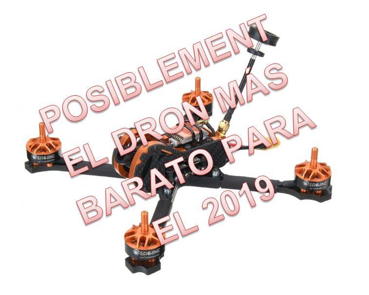 Eachine Tyro99 Será el dron de carreras más barato del 2019