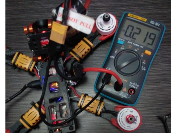 Offset Calibracion Sensor de Corriente Betaflight