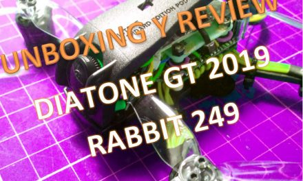 Unboxin y Review del Diatone 2019 GT-Rabbit R249-115mm