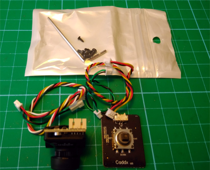 Accesorios Camara Caddx Micro f2