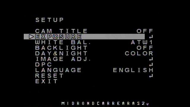 Ajuste Video Imagen FPV Setup