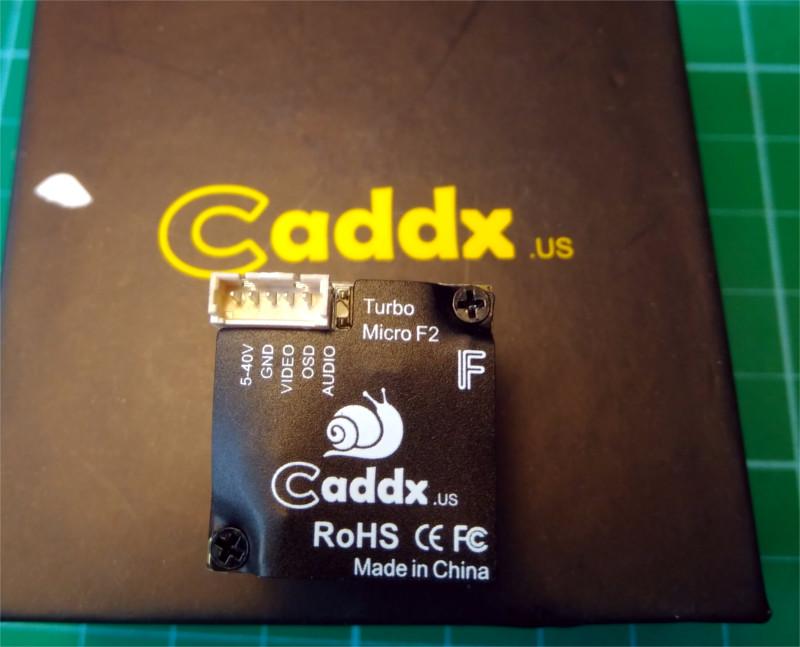 Caddx micro f2 parte trasera