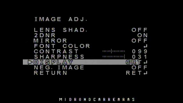 Configuracion Video Camara FPV