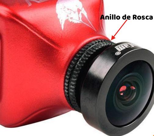 Lente Y Anillo Rosca Camara FPV