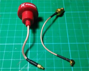 Antena Foxeer y latigillo MMCX