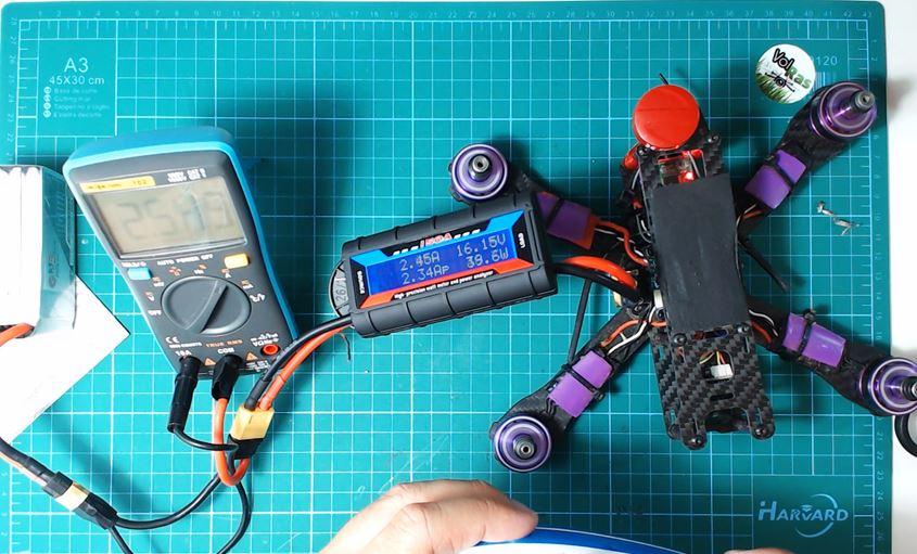 Ejemplo_Tester_Amperimetro_Dron