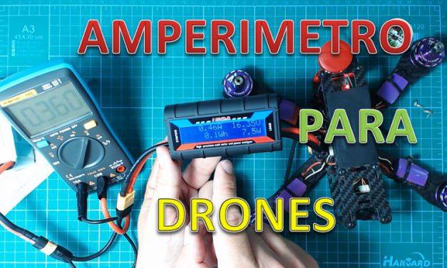 Vatímetro Digital de 150A para Drones y Baterías