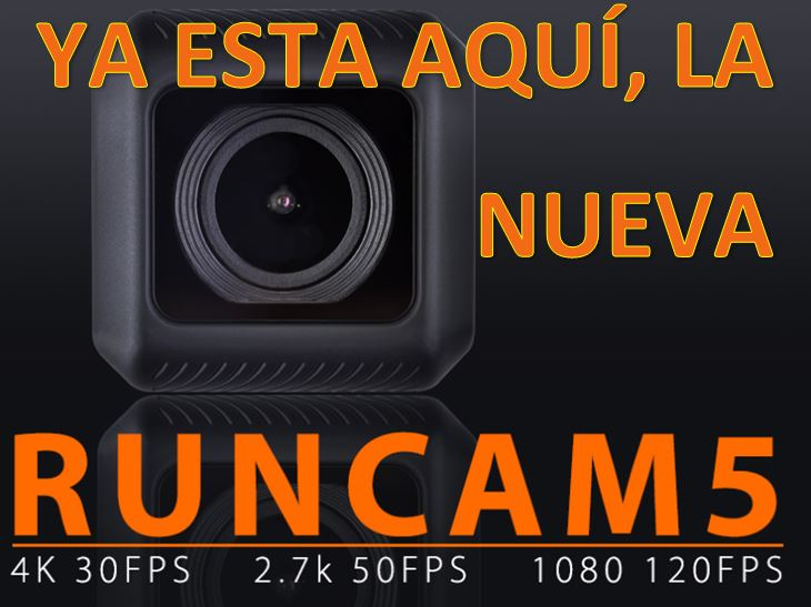 "Runcam 5 con Resolución ""SuperView"""