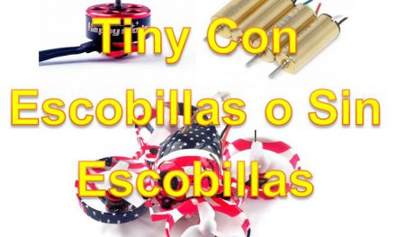 Tinys, ¿Con Motor de Escobillas o Sin Escobillas?