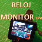 Topsky 2 Pulgadas El Reloj Monitor FPV de 5,8GHz