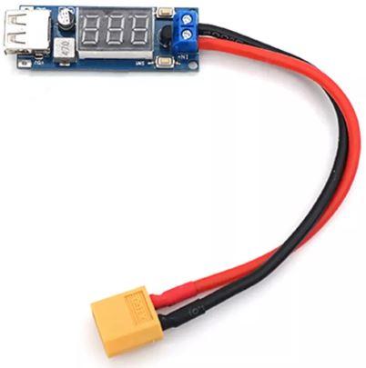Convertidor XT60 a USB