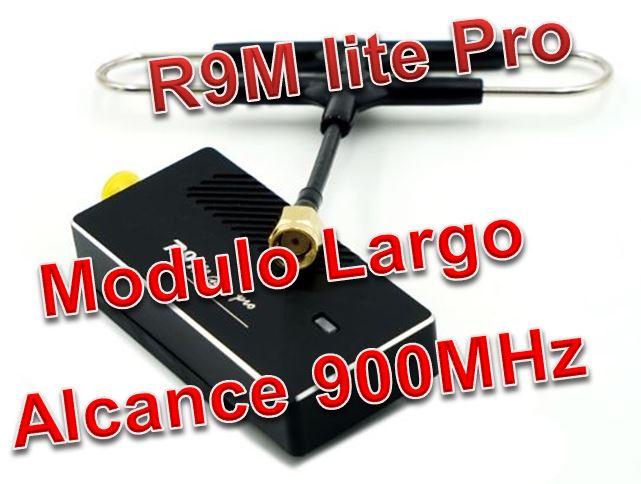 R9M Lite Pro 900MHz de Frsky no todo es Crossfire