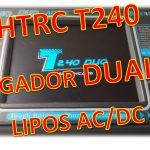 HTRC T240 DUO Cargador con Pantalla Táctil