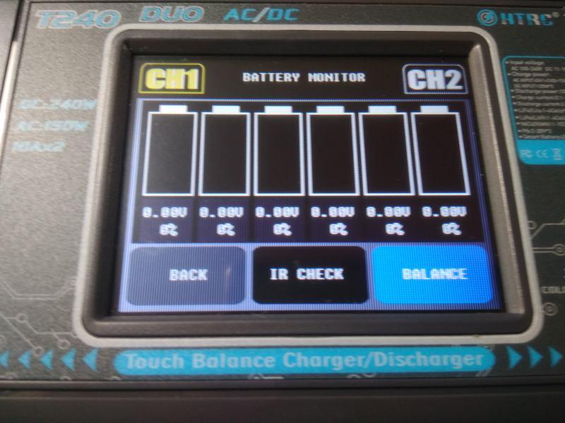 T240 Pantalla Resistencia Interna y Balanceo(Monitor)