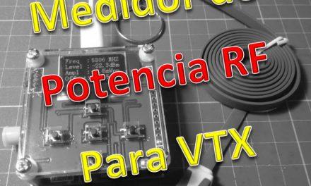 Medidor de Potencia RF para VTX