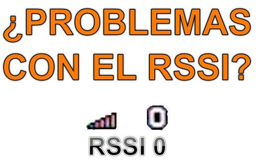 Problemas y Solucion del RSSI en OSD