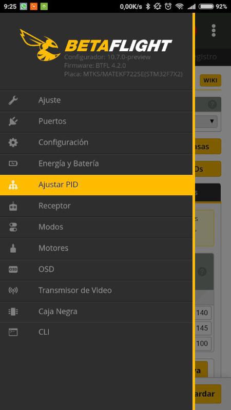 App Betaflight